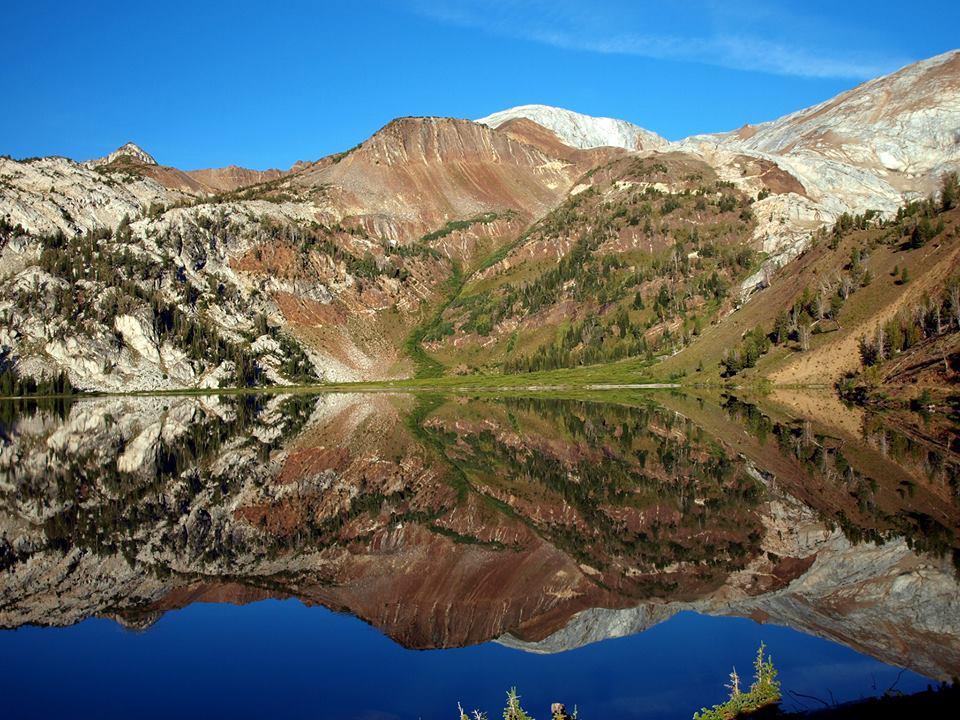 Eagle Cap Wilderness Ice Lake