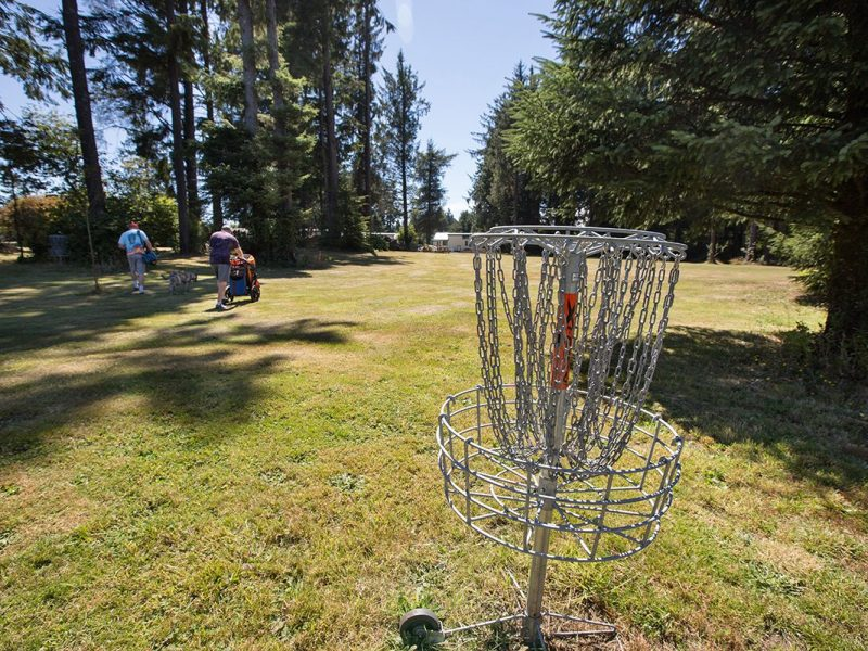 Tillamook Coast Disc Golf At The Sheltered Nook Adam Sawyer